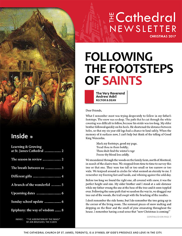 Newsletters St James Cathedral