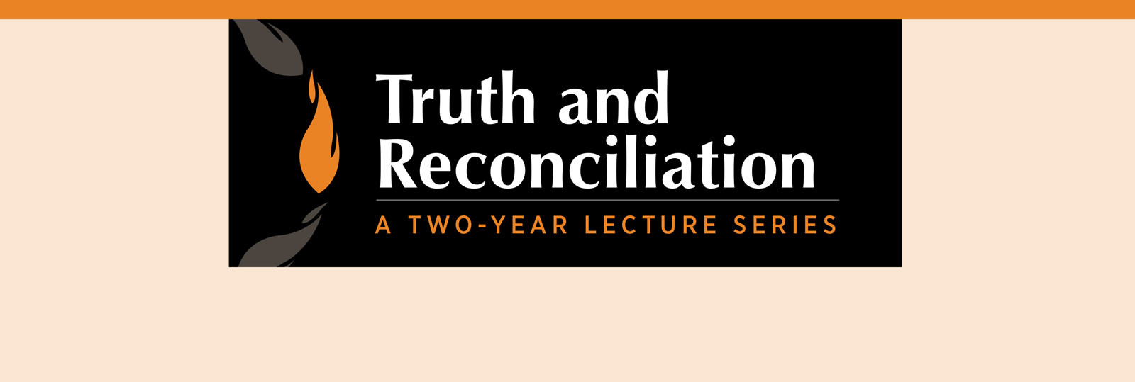 Truth and Reconciliation Lecture: The Rev'd Chris Harper