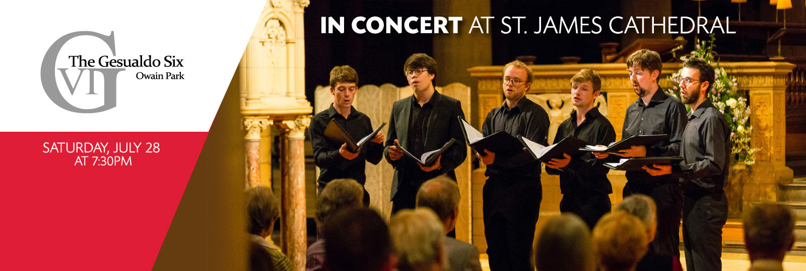 The Gesualdo Six in Concert