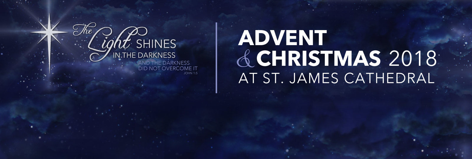 Click for details about Advent and Christmas Services at St. James